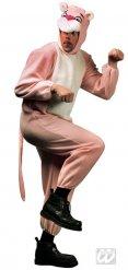 Lichtroze panter kostuum voor volwassenen