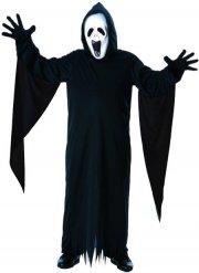 Zwart en wit spook kostuum voor kinderen