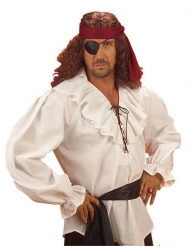 Witte piraten blouse voor mannen