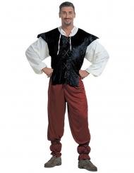 Middeleeuws taverne kostuum voor mannen