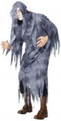 Grijs eng spook kostuum voor mannen