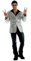 Disco jasje met lovertjes voor mannen