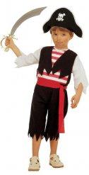 Kleine piraat kostuum voor jongens