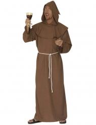 Bruine monnik kostuum voor mannen