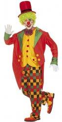 Grappig clown kostuum voor mannen