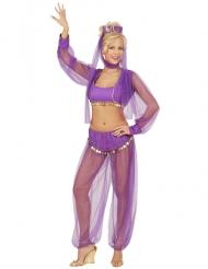 Paarse buikdanseres outfit voor vrouwen