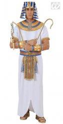 Witte Egyptische farao kostuum voor mannen