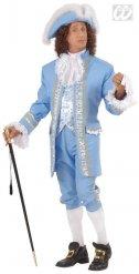 Blauw Renaissance kostuum voor mannen
