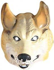 Honden wolf masker voor volwassenen