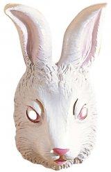 Wit konijnenmasker voor volwassenen
