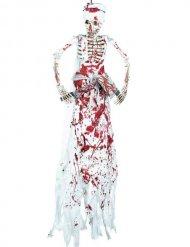Bloederig slager skelet decoratie