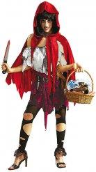 Zombie Roodkapje kostuum voor vrouwen