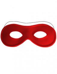 Rood half masker voor volwassenen
