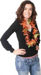 Oranje vissen Hawaiiaanse halsketting