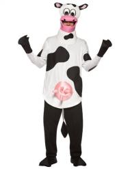 Koeien kostuum met uiers voor volwassenen