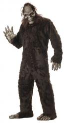 Bruin yeti kostuum voor volwassenen