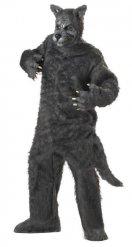 Grijs Groze Boze Wolf kostuum voor volwassenen