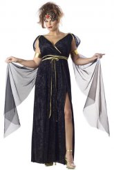 Griekse godin kostuum voor dames - grote maten
