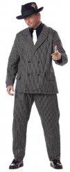Mafia gangster kostuum voor mannen - Grote Maten