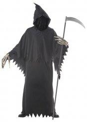 Zwarte reaper kostuum voor heren