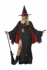 Kostuum heksen voor vrouwen grote maat
