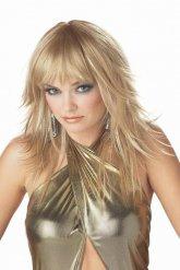 Blonde popster pruik voor vrouwen
