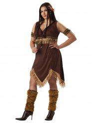 Sexy indianen kostuum voor vrouwen - Plus Size