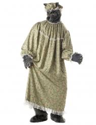 Grootmoeder wolf kostuum voor volwassenen