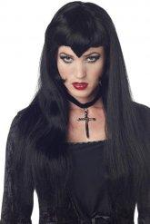 Gothic vampier pruik voor vrouwen