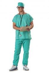 Chirurg kostuum voor mannen