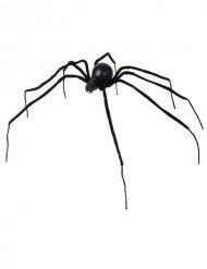 Zwarte spin decoratie 110 cm