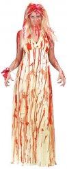 Bloederige bruid kostuum voor vrouwen