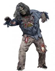 Griezelig zombie kostuum voor heren