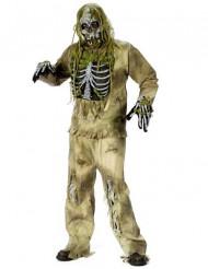 Fossiele zombie kostuum voor volwassenen