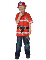 Brandweer t-shirt voor kinderen