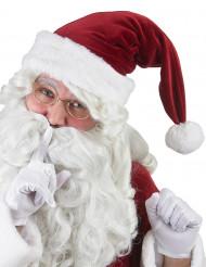 Deluxe kerstman muts voor volwassenen
