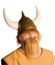 Lichtbruine viking baard voor volwassenen