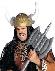 Vikinghelm met nepbont voor volwassenen