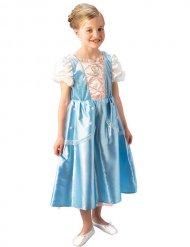 Blauw en wit prinses kostuum voor kinderen