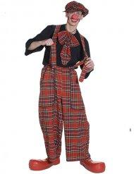 Schotse clown kostuum voor volwassenen