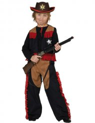 Sheriff cowboy kostuum voor jongens