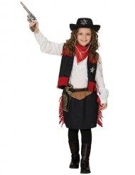 Western cowgirl kostuum voor meisjes