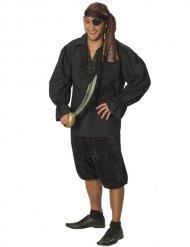 Zwart piraten hemd voor mannen