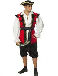 Piraten edelman kostuum voor mannen