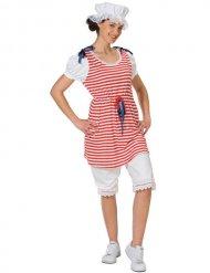 Retro badpak kostuum voor vrouwen