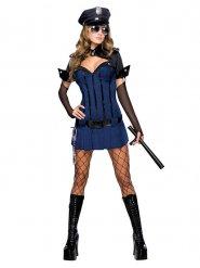Sexy agente kostuum voor vrouwen