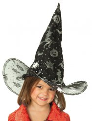 Zwarte heksenhoed voor kinderen
