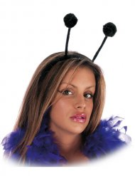 Haarband met zwarte antennes volwassenen