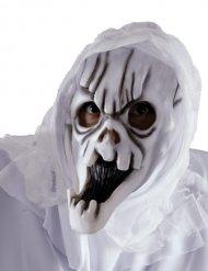 Wit spook masker voor volwassenen