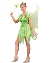 Sexy groen fee kostuum voor vrouwen